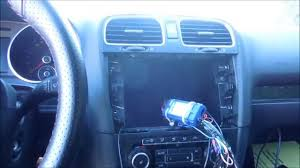 how to install or replace stereo in volkswagen gti mark 6 2011 2005 VW GTI MPG at 2005 Vw Gti Stereo Wiring Diagram