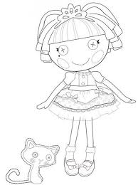 Small Picture Lalaloopsy Coloring Pages Colouring pages 19 Free Printable