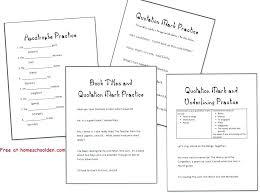 punctuation practice worksheets pdf – lesrosesdor.info