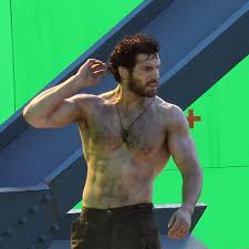 Henry cavill hairy chest