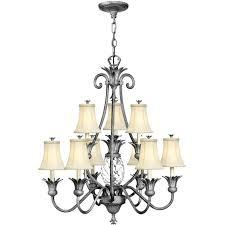 10 light chandelier maxim lighting light chandelier in polished nickel burkley 10 light sputnik chandelier