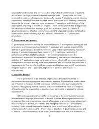 research paper on project management and it governance 2 organizational