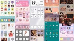 30+ Aesthetic iOS 14 Home Screen Theme ...
