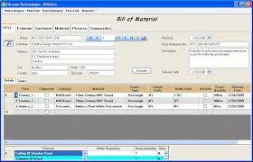 Bill Of Material Generation Software - Plus Bomgen