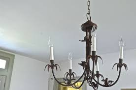 step by step instructions for rewiring a thrifted chandelier