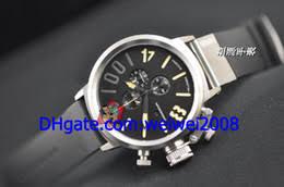 discount mens left handed watches 2017 mens left handed watches 2017 mens left handed watches whole luxury flightdeck cab left hand wind chronograph steel men s