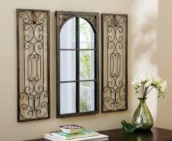 wrought iron window decor