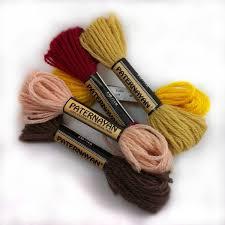 Paternayan Persian Yarn Color Chart Paternayan Yarn 8 Yard 1 4 Oz Twist Colors 100 601