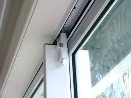 sliding glass door foot lock sliding door lock installation on top sliding closet door lock sliding