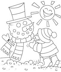We've included some beautiful and detailed winter coloring pages, snowman coloring pages, snow coloring pages, winter wear coloring pages and even winter animal coloring pages. Free Preschool Winter Coloring Pages Toddler Arts And Crafts Coloring Pages Winter Cool Coloring Pages Christmas Coloring Pages
