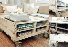pallet coffee tables industrial pallet coffee table diy