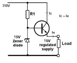 how to convert 220volts ac to 15 volt 3ampere dc out using a see the emitter follower circuit