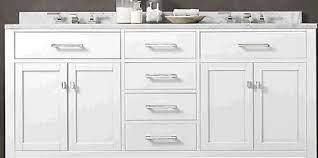 8 Foot Vanity Design Larger Cupboards Or More Drawers