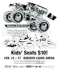 Monster Truck Coloring Page Monster Jam Coloring Book Monster Jam