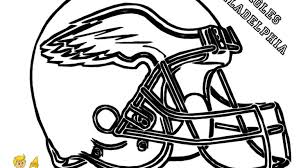 Coloring Pages Football Philadelphia Eagles Coloring Pages Great Free Clipart Silhouette