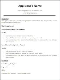 Free Resume Templates For Teachers Stunning Free Resume Template For Teachers To Download Kubreeuforicco
