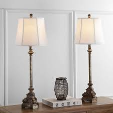 Console Table Lights Safavieh Lighting Collection Rimini Console Antique Silver 33 5 Inch Table Lamp Set Of 2