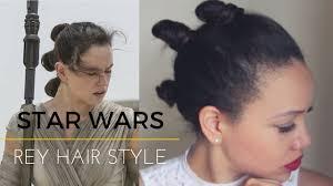 Rey Hair Style tri bun space hair star wars hairstyle youtube 6970 by stevesalt.us