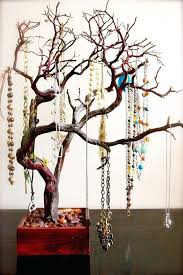 diy jewelry tree holder this would be an awesome for toddler work they could hang apples diy jewelry tree