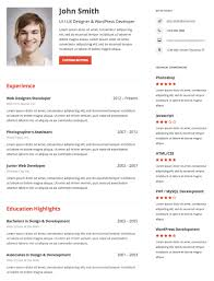 Resume Builder Wordpress Plugins