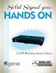 Directv Genie 2 Status Light Blue Directv C41w Wireless Mini Genie Client And Wireless Video