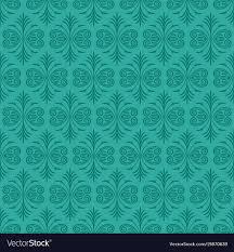 Dark Jade Ornamental Background With Teal Fur