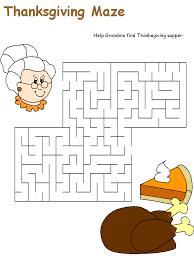3 Thanksgiving mazes. Thanksgiving Worksheets For Kindergarten ...