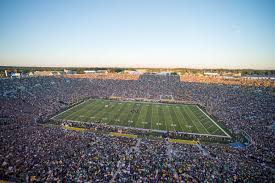 Notre Dame Football 2019 Seating Chart Notre Dame Football Tickets Seatgeek