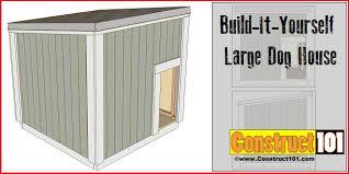 large dog house plans. Fine Large Large Dog House Plans With Large Dog House Plans H