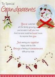 To Special Grandparents Christmas Greeting Card Traditional Cards ...
