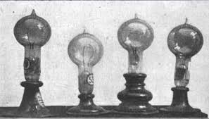 「Thomas Alva Edison developed lamp」の画像検索結果