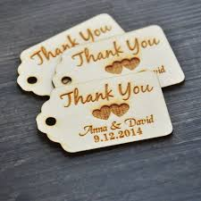 thank you tags for wedding favors interior wedding favor tags personalized thank you wedding tags