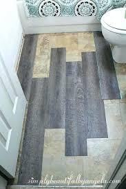 l stick vinyl tile flooring replacing vinyl flooring in bathroom simply beautiful by l and stick