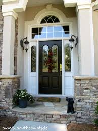 southern front doorsSavvy Southern Style Front Door Tutorial
