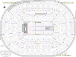 Portland Memorial Coliseum Detailed Seating Chart Moda Center Rose Garden Arena Detailed Seat Row