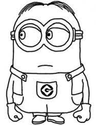 Small Picture Despicable Me Minions Coloring Pages in Color DIY Crafts