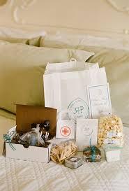 creative wedding welcome bag ideas brides