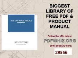 free auto repair manuals diagrams youtube car repair guide pdf at Free Repair Diagrams