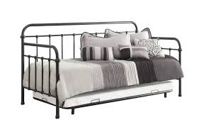 metal daybed. Brilliant Metal Logan Dark Bronze Metal Daybed With Trundle  Coaster 300398 On E