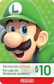 Amazon.com: $10 Nintendo eShop Gift Card [Digital Code]: Video Games
