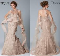 2017 Janique Dresses Evening Wear Sweetheart Sleeveless Mermaid