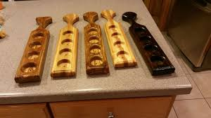 woodworking christmas gifts. Wonderful Christmas Made Some Beer Flights For Christmas Gifts  Intended Woodworking Gifts
