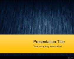 Blue And Gold Powerpoint Template Engage Powerpoint Template Free Design
