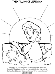 Small Picture Coloring Pages About Jeremiah Coloring Coloring Pages
