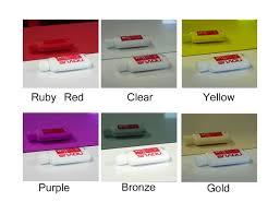 colored plexiglass sheet