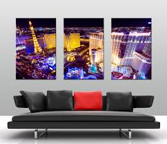 home triptych 3 piece wall art las vegas at night previous  on wall art prints australia with las vegas at night triptych art canvas prints australia