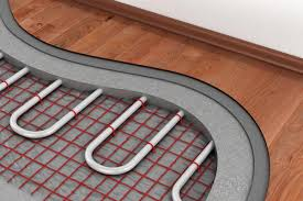 heated floors floor heating system layers of flooring insulation for heating