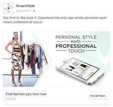 Fashion Designer Facebook App Facebook App Install Ad Example Facebook App Install Ad