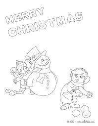 christmas card color pages christmas cards coloring pages card free building a snowman