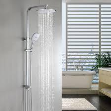 Duschset Duschsystem Regendusche Duschkopf Duscharmatur